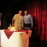 Con Jorge Bucay.